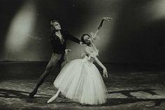 Natalia Bessmertnova and Mikhail Baryshnikov in 'Giselle', 1972 photo by Nina Alovert