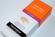 Neutrogena Visibly Clear Correct and Perfect CC Cream - love this CC cream. The best drugstore one I've tried. Colour is spot on. Great budget buy and good coverage. Perfect for dry skin too. Cc Cream Review, Makeup Must Haves, Make Up, Make It Yourself, Neutrogena, Health Advice, Clear Skin, Body Care, Makeup Stuff