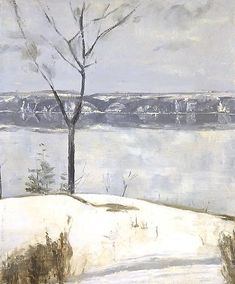 Edwin Dickinson | NINA'S MARSH, 1942 Oil on canvas, 10 x 12 inches
