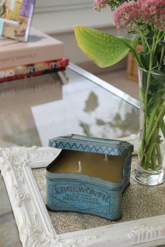 Shabby Chic Vintage candle by byKVH on Etsy