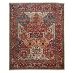 """Oushak Collection Oriental Rug, 8'2"""" x 9'8"""" 