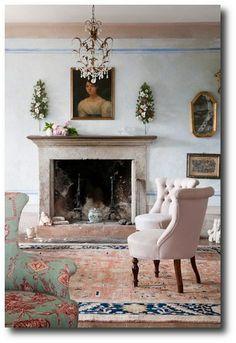 Interior decorator Paola Angoletta's home in a valley of Belluno mountains