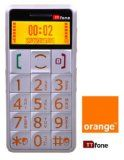 Orange Mobile Pay As You Go - Pre Pay - PAYG - Big Button Easy to use Senior Mobile Phone - SOS button and large eas...