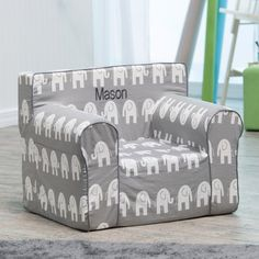 Personalized kids chair