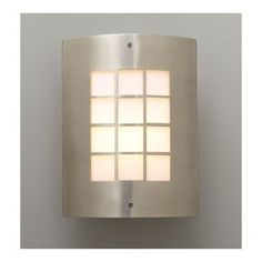Turin Outdoor Wall Sconce in Satin Nickel by PLC Lighting. $79.20. 1876-Matte Opal-SN Features: -Outdoor one light wall sconce.-Opal acrylic glass shade.-Suitable for wet location. Construction: -Die cast aluminum construction. Color/Finish: -Satin nickel finish. Specifications: -Accommodates (1) 60W A19 bulb (not included). Dimensions: -Overall dimensions: 11.75'' H x 9.25'' W x 4'' D.