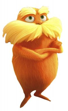 The Lorax 09/25/2013 Comment: It's all about the graphics ...