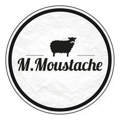 M Moustache - http://www.monsieur-chic.com/m-moustache/