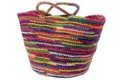 shopping basket moda ibiza - for inspiration only, don't know who the designer is.