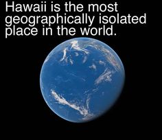 20 Facts You Might Not Know About Hawaii- all the more reason to move here :)