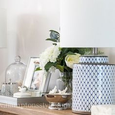 If your looking for a smaller lamp, then you will love the Leila Lamp. At just high including the shade its perfect for a bedside or side table ✔️⠀ Hamptons Style Decor, The Hamptons, Hamptons Bedroom, Side Table Styling, Best Desk Lamp, Room Lamp, Bed Room, Futuristic Interior, White Decor