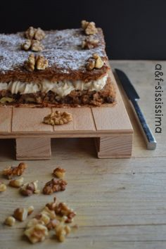 acqua e farina-sississima: torta di noci e mascarpone