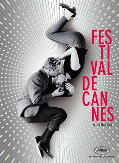 Cannes 2013 : l'affiche du festival dévoilée ! Not so sure if i care about Cannes, but I totally love this pic. It makes me miss being in love.