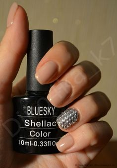 Гель-лак для ногтей BLUESKY Shellac 106 Bluesky Shellac, Shellac Colors, Nail Inspo, Nail Polish, Nails, Beauty, Finger Nails, Ongles, Nail Polishes