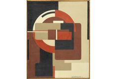 Victor Servranckx, Opus 2, Rotative rouge, 1922 ©Centre Pompidou, Dist. RMN-GP | SABAM Belgium 2012