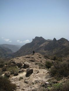 Hiking in La Gomera (Canary Islands), Spain   BY STEVE HÄNISCH