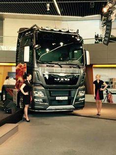 Nákladní automobil MAN euro 6 (Truck MAN euro 6)