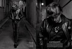 Hedi Slimane by Karl Lagerfeld