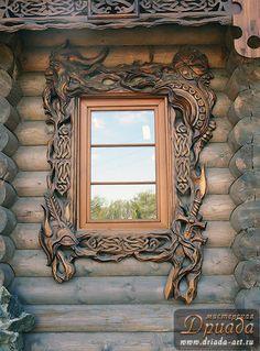 Decorative Russian window...