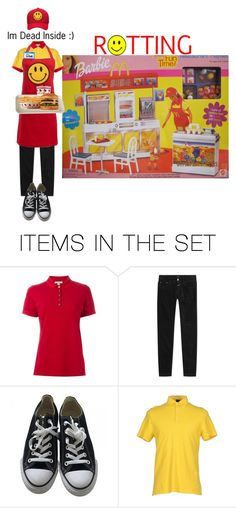 """""""Minimum Wage Barbie"""" by s-a-s-sytoonist ❤ liked on Polyvore featuring art"""