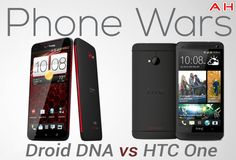 Phone Wars: Droid DNA Vs HTC One