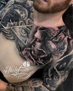 3,092 vind-ik-leuks, 11 reacties - ⠀⠀⠀⠀⠀⠀⠀⠀TATTOO ARTISTS (@tattoo.artists) op Instagram: 'B&G Tattoo Artwork  Artist IG: @nashygunz'