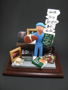 any style of medical practitioner or specialist can be sculpted to your specifications... Any professions or hobbies can easily be incorporated into a personalized figurine or cake topper for you!!$250#doctor#surgeon#physician #cake #toppers  #custom #personalized #internist #medical_specialist #anniversary#graduation http://www.magicmud.com  1 800 231 9814 #birthday#wedding_cake_toppers#cake_toppers#figurine#gift