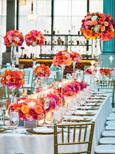 Strictly Weddings fancies the resurgence in formal affairs and grand glamour as seen in the recent wedding dining trend of king's tables.