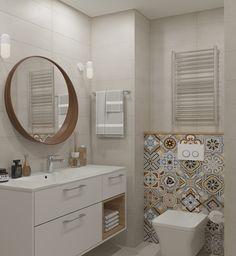 Trendy Decor Apartment Bathroom Mirror Ideas 366550857173962974 in 2020 Bathroom Vinyl, Diy Bathroom Decor, Bathroom Flooring, Budget Bathroom, Shower Bathroom, Vanity Bathroom, Bathroom Ideas, Nature Bathroom, Paris Bathroom