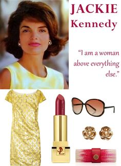 8597731496 A great Jackie Kennedy inspired look and my favorite Jackie Kennedy quote  )