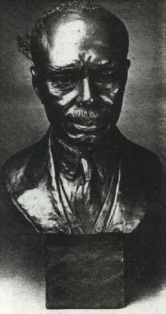 A James Weldon Johnson bust by Augusta Savage African American Culture, African American Artist, American Artists, Photo Sculpture, Sculpture Art, Sculptures, Famous Black Artists, Augusta Savage, James Weldon Johnson