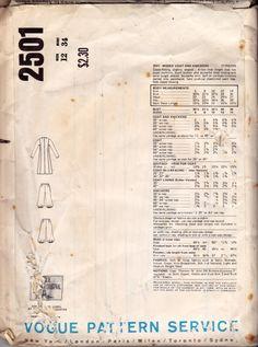 Rare 1970s YVES SAINT LAURENT Coat & by allthepreciousthings