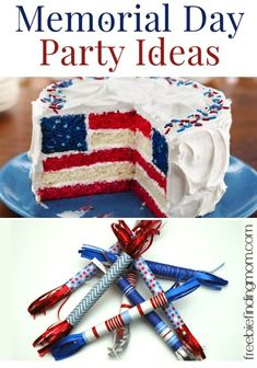 Memorial Day Party Ideas - Your Memorial Day party will be the talk of the town with these DIY patriotic foods, decorations and more.