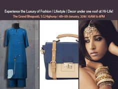 Hi Life | 4th & 5th January | TGB, SG Highway Date- 4th - 5th January, 2018 Time- 10AM to 8PM Venue- The Grand Bhagwati, S.G.Highway.  #Exhibition #Fashion #Lifestyle #Clothing #Accessories #Jewellery #Footwear #HomeDecor #HiLifeExhibition #HiLifeExhibitionAhmedabad #CityShorAhmedabad