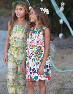 MINI BODEN SS13 Pleated Print Dress