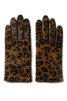 CLUB MONACO Nicole Haircalf Glove These sumptuous haircalf gloves, lined in an ultra-soft cashmere blend, add a touch of luxe appeal to your cold-weather wardrobe. Animal Print Belts, Animal Print Fashion, Animal Prints, Club Monaco, Winter Wear, Autumn Winter Fashion, Dress Up Boxes, Cold Weather Fashion, Mitten Gloves