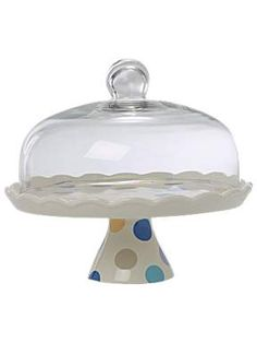 dotted cake stand from House of Fraser