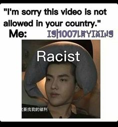 """IS MY COUNTRY TOO BAD FOR YOU?"" 