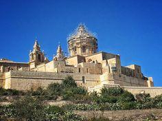 Juego de tronos  Ciudad medieval de Mdina Malta  #nature #photography