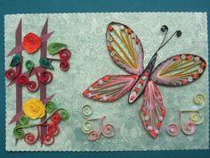 papillon - quilling