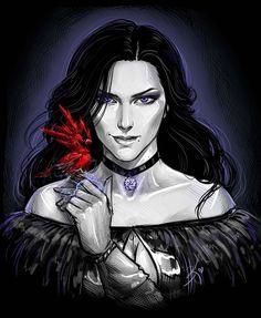 Йеннифер,Witcher Персонажи,The Witcher,Ведьмак, Witcher, ,фэндомы,Кулаковская А.В.,artist