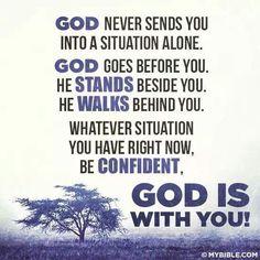 Gods always with you....