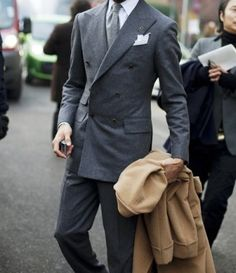 A Man's First Suit