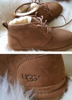 Laced uggs.