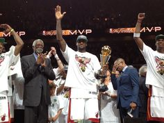 The king is crowned