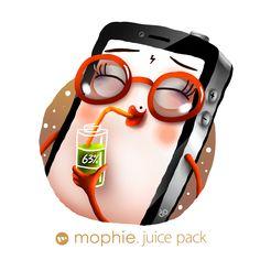 Просмотреть иллюстрацию Реклама Mophie Juice Pack из сообщества русскоязычных художников автора Фил Дунский в стилях: Детский, Персонажи, Реклама Персонажи, нарисованная техниками: Растровая (цифровая) графика.