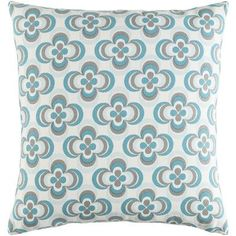 Artistic Weavers Trudy Cotton Throw Pillow Color: Teal Multi