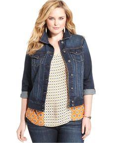 piniful.com plus size jean jacket (21) #plussizefashion