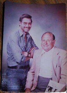 RARE BOB ROSS PHOTO with his mentor William (Bill) Alexander - undated -MReno