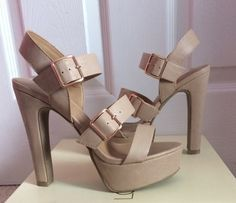 27705a651dab Brand New Lauren Conrad platform strappy sandals on Vinted.com! Second Hand  Clothes