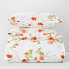 Vera Wang Orange Blossoms Duvet Cover